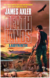 Deathlands #73: Labyrinth - In the ancient canyons of New Mexico, the citizens of Little Pueblo prepare to sacrifice Ryan and his companions to demons locked inside a twentieth-century dam project. But in a world where nuke-spawned predators feed upon weak and strong alike, Ryan knows avenging eternal spirits aren't part of the game. Especially when these freaks spit yellow acid-and their creators are the whitecoat masterminds of genetic recombination, destroyed by their mutant offspring born of sin and science gone horribly wrong�